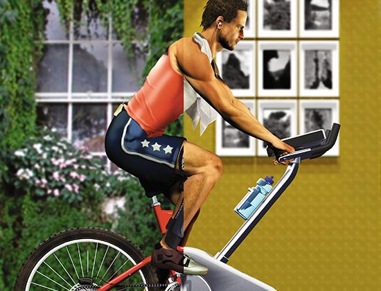 4 эффективные кардиотренировки на велотренажере