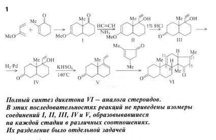 Химическая цепочка Дикетона