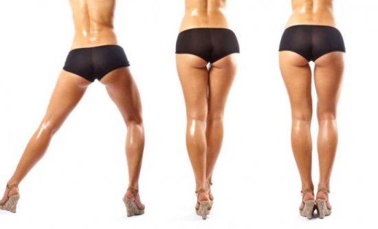 Самые работающие неприятные упражнения на мышцы ягодиц для девушек