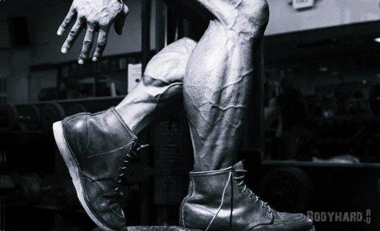 Три причины плохого роста икроножных мышц