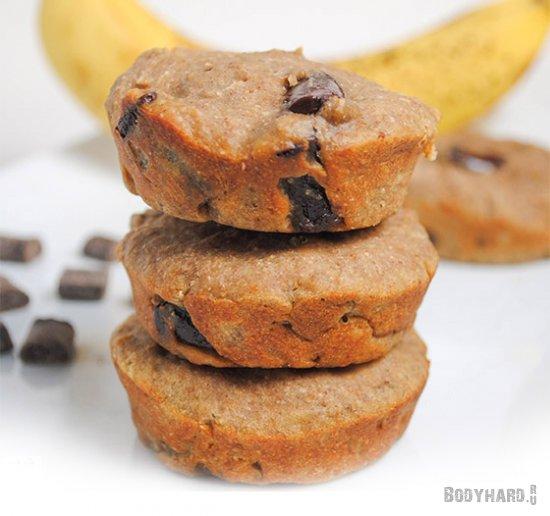 Белковые шоколадно-банановые печенья и блины