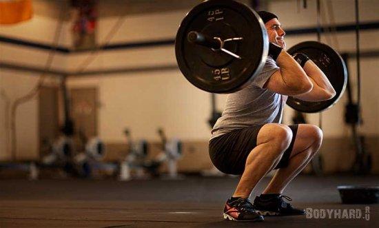 Кроссфит упражнения: Выбросы (Thruster)