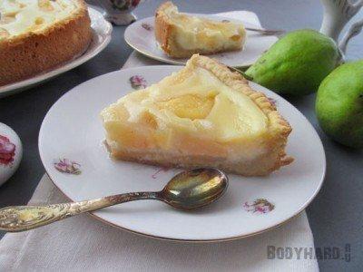 Творожно-йогуртовый торт без выпекания