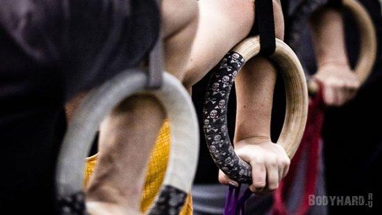 Выход силой на кольцах (Muscle-up)