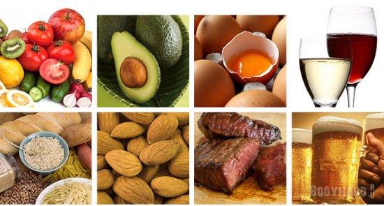 Макроэлементы пищи